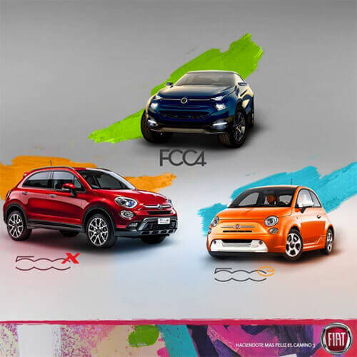 Fiat 7° salón internacional del automóvil